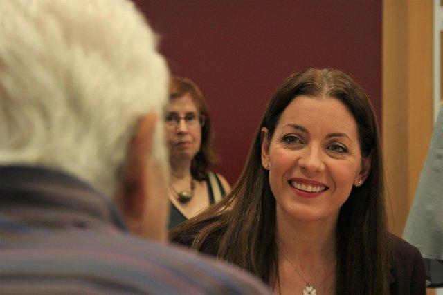 La consejera de Políticas Sociales y Familia, María Dolores Moreno
