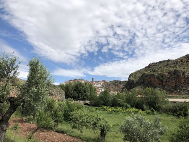 Vista de Tierga (Zaragoza)