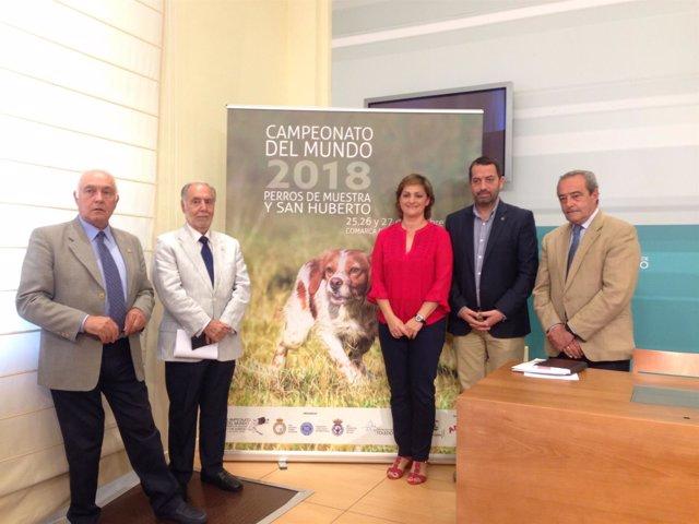 Presentación del Campeonato del Mundo 'Perros de Muestra y  San Huberto'
