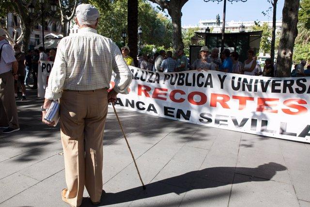 Los sindicatos UGT y CCOO en Andalucía, junto con sus respectivas organizaciones
