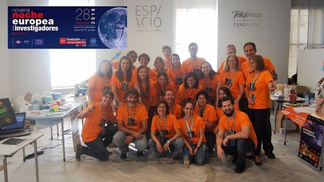Los investigadores de GSK que participaron en la Noche de los Investigadores