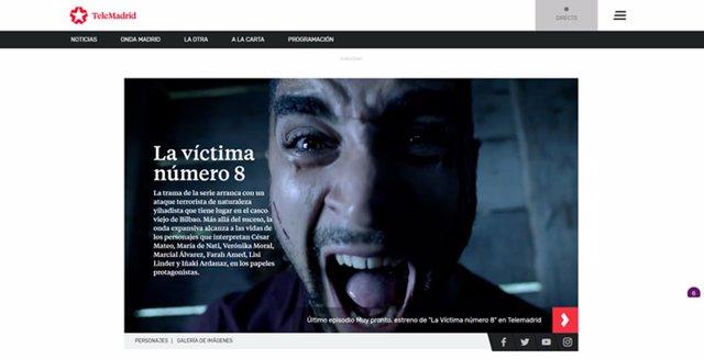 Web de Telemadrid
