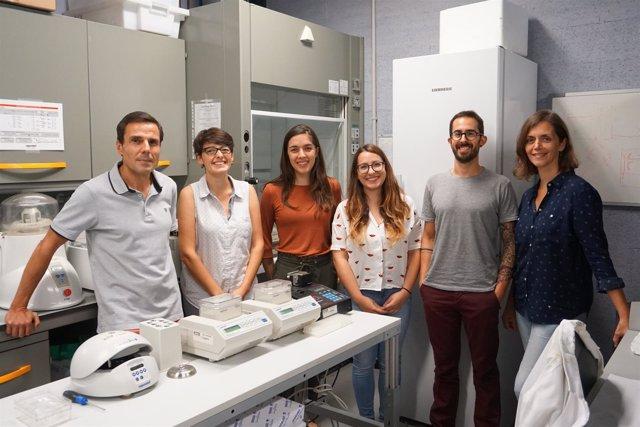 El equipo del IBMB-CSIC J.Roca, O.Díaz, S.Dyson, J.Segura, A.Valdés y B.Martínez