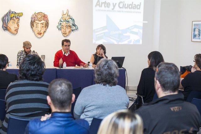 Imagen de archivo del Foro de Artistas Plásticos de Almería.