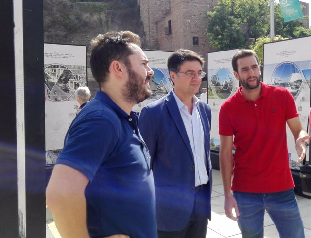 Exposición arquitectura málaga semana colegio oficial arqutiectos