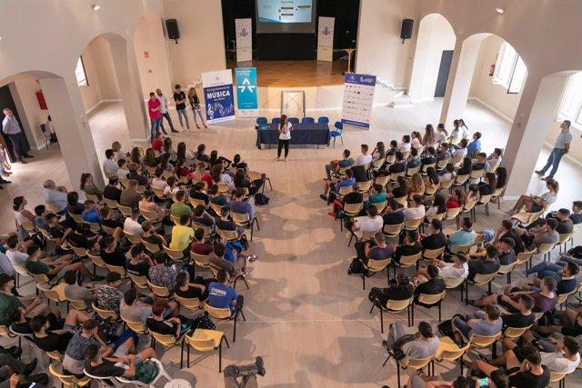 Presentación red de embajadores de la FP Dual Málaga educación formación profesi