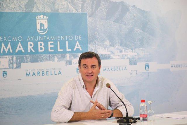 Felix Romero en Rueda de prensa