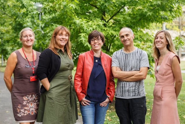 Los integrantes del equipo investigador de la UPNA