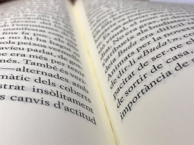 Libro, leer, catalán, lectura, página