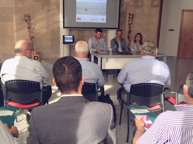 Celdrán preside la reunión del Comité de Participación Social del Mar Menor