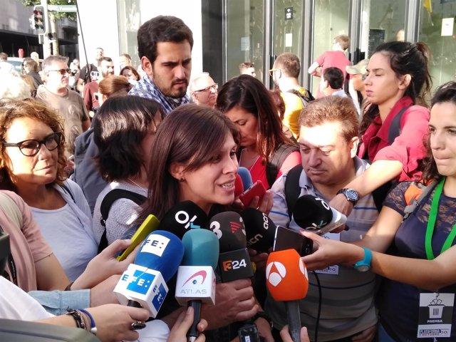La portavoz de ERC, Marta Vilalta.
