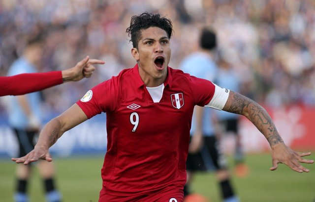 El peruano Paolo Guerrero