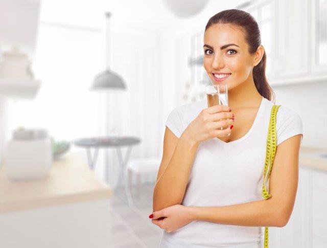 Beber agua, adelgazar, ejercicio