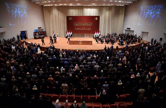 Sesión del Parlamento de Irak