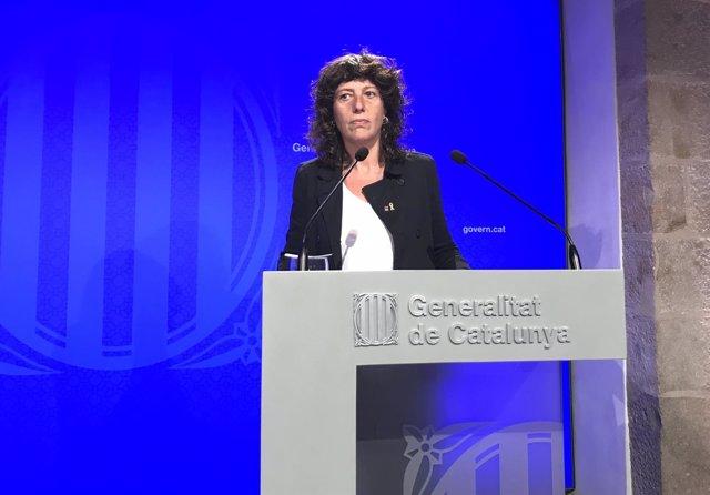La consellera de Agricultura, Teresa Jordà (Archivo)
