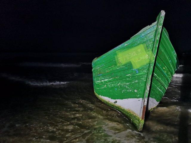 Patera llegada a las costas de Lanzarote