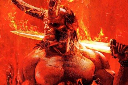 Primer e Infernal póster del nuevo Hellboy