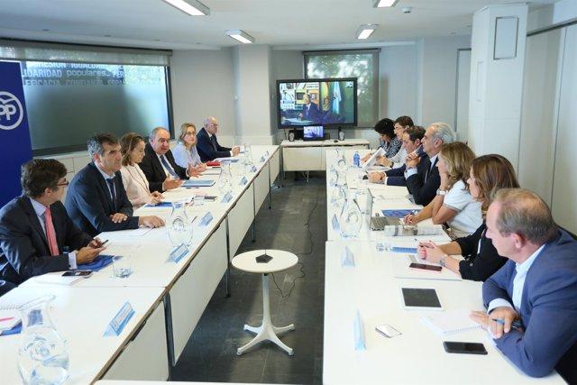 Reunión del PP en materia de sanidad