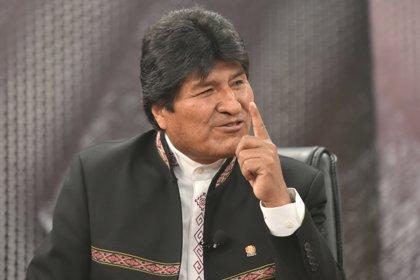 """Morales insiste en que el fallo """"injusto"""" de la CIJ reconoce que hay un """"tema pendiente"""" con Chile"""