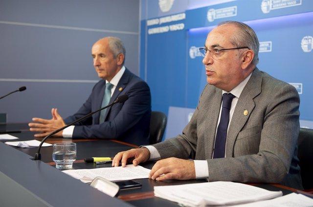 El consejero de Medio Ambiente, Planificación Territorial y Vivienda, Iñaki Arri