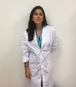 Claudia Bernárdez, del Servicio de Dermatología del Ruber Juan Bravo