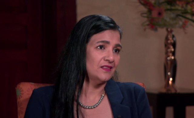 Zoilamérica Narváez, hijastra del presidente  Daniel Ortega