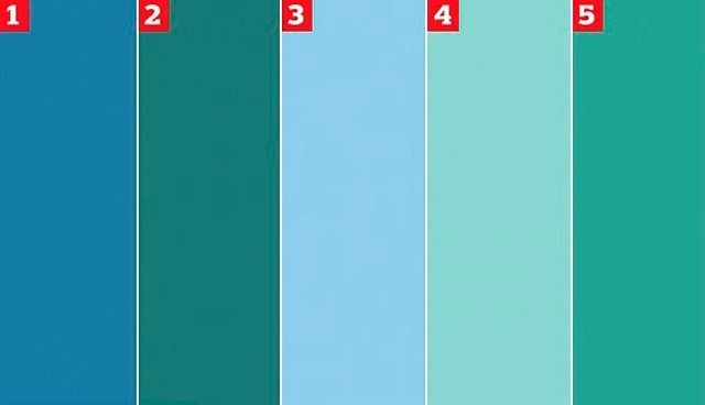 Azul O Verde Que Color Identificas En Esta Muestra - Tonos-verde