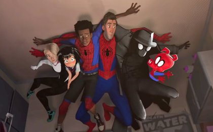 Reunión de 'spider-gente' en el tráiler de Spider-Man: Un nuevo universo
