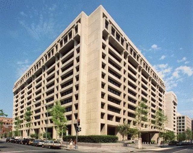 Sede del Fondo Monetario Internacional (FMI) en Washington