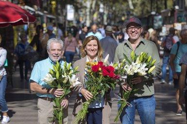 Arriba la 56 Festa del Roser per reivindicar la flor a La Rambla i atreure als barcelonins (AMICS DE LA RAMBLA)