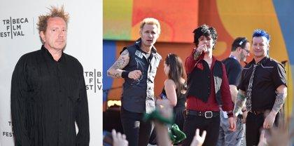 """Johnny Rotten (Sex Pistols) critica a Green Day como banda punk: """"Son una versión turgente de algo que no les pertenece"""""""