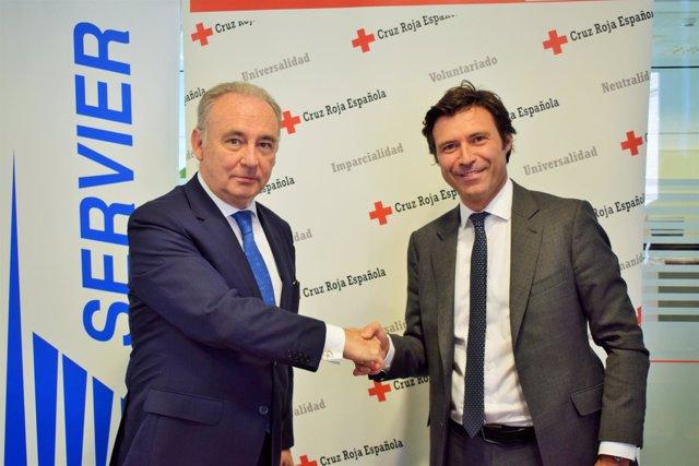 Acuerdo de Cruz Roja y Servier para visibilizar la depresión a través del arte