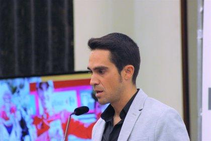 Contador imparte este viernes una charla en la UEMC de Valladolid sobre la cultura del esfuerzo