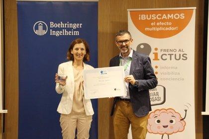 Empresas.-Boehringer Ingelheim recibe el Sello 'Brain caring people' por ayudar a mejorar el conocimiento sobre el ictus