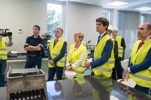 Urkullu inaugura la nueva planta de Winoa en Balmaseda 50e7c7e7a85