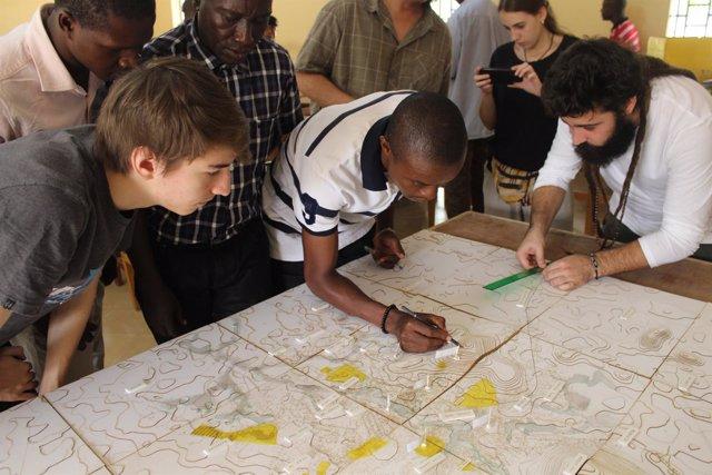 Plan de urbanismo en Makeni de estudiantes del CEU