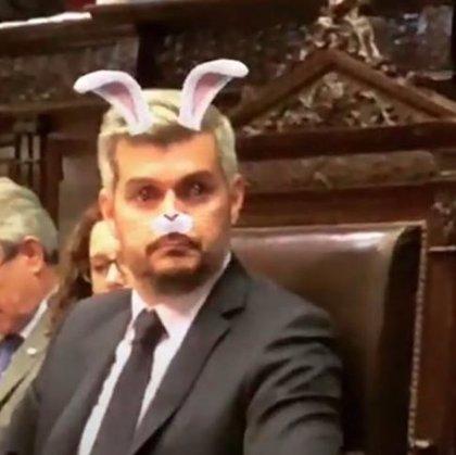 Una diputada argentina se burla en un directo de Instagram de la intervención política del jefe de Gabinete de Macri