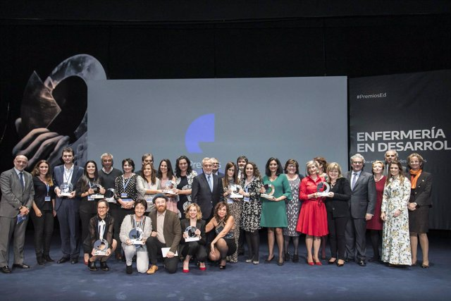 Gala de los premios de Enfermería en Desarrollo de 2017