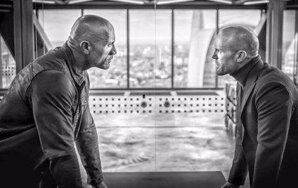 Dwayne Johnson y Jason Statham, cara a cara en Hobbs and Shaw el spin-off de Fast and Furious