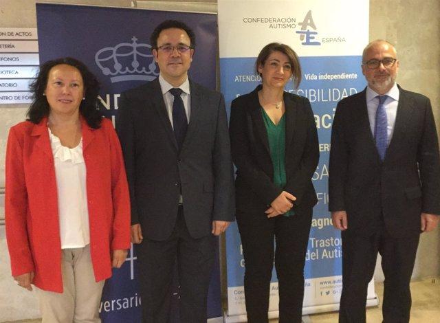 Colaboración Autismo España y la Fundación Reina Sofía