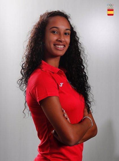 María Vicente, abanderada de España en los Juegos Olímpicos de la Juventud de Buenos Aires