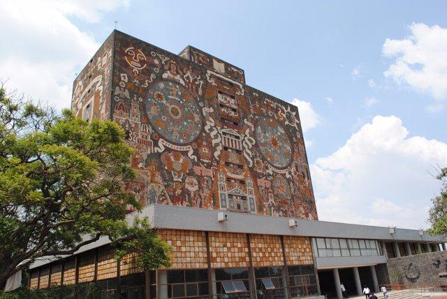 Biblioteca de la UNAM de México