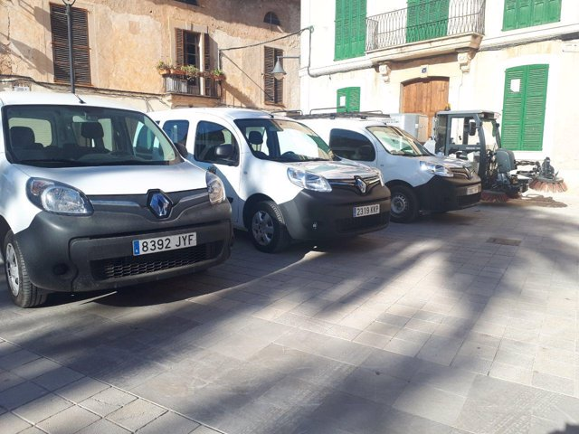 Vehículos comprado por el municipio de Santa María