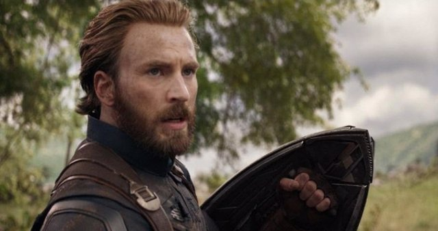 Chris Evans es Capitán América en Vengadores: Infinity War