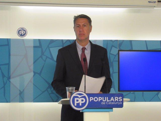El Líder Del PP Catalán, Xavier García Albiol