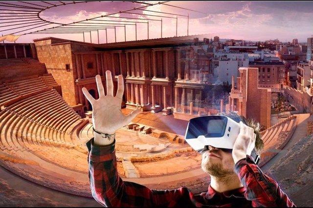 Visita virtual al Teatro Romano