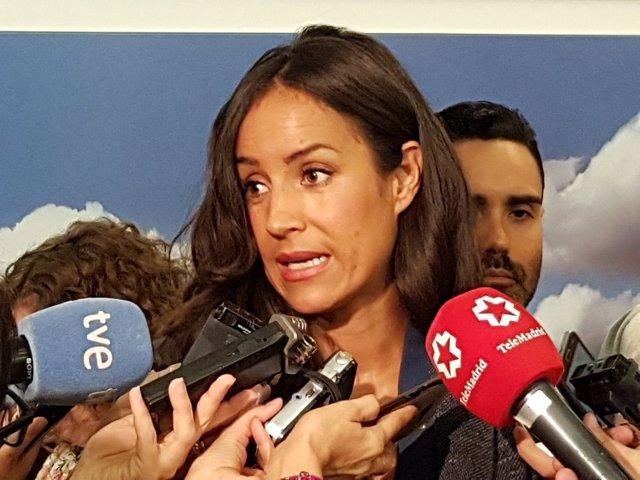 La portavoz de Ciudadanos en Madrid, Begoña Villacís