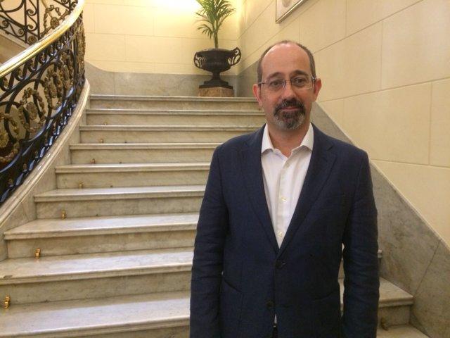 Gabriel González, especialista en política de la infancia de Unicef