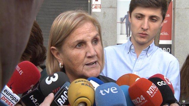 Núria De Gispert En El Tribunal Supremo