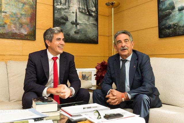 Pablo Zuloaga y Miguel Ángel Revilla
